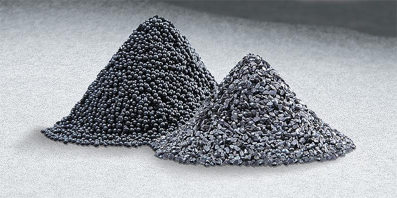 Granalha de Aço Steel Grid e Steel Schot